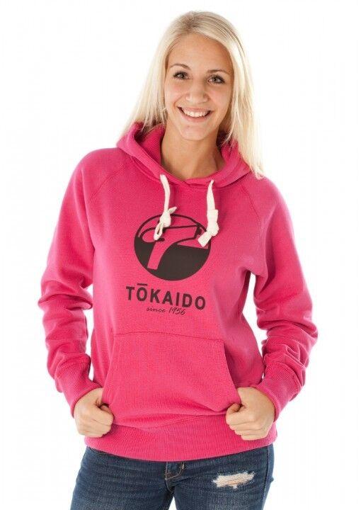 Tokaido- KAPUZENPULLOVER KAPUZENPULLOVER KAPUZENPULLOVER TOKAIDO BIG LOGO GIRLS CUT Rosa. Budo. Judo 533b26