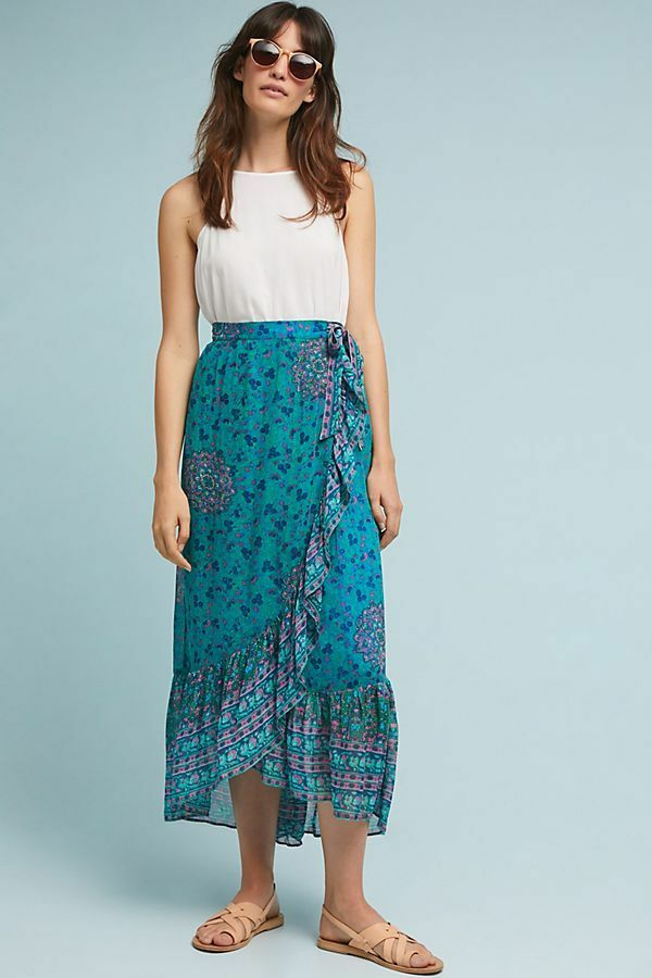 128  Anthropologie Allegra Skirt   size 8 new with tag