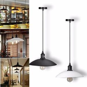 Details About Retro Pendant Cover Edison Bulb Lamp E27 Fixture Coffee Shop Kitchen Home Decor
