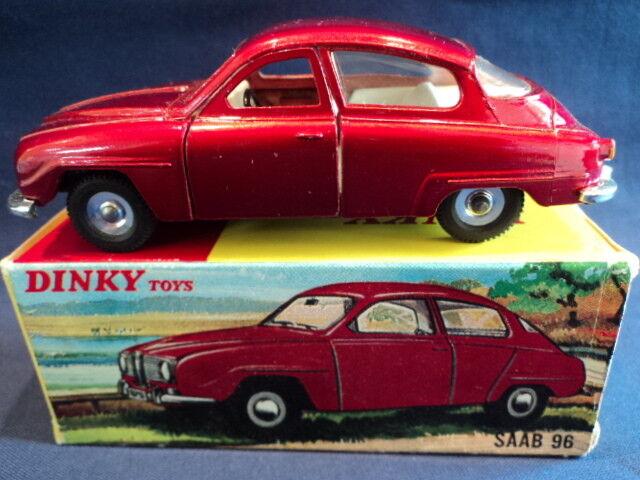 Dinky década de 1960 Saab 96 No 156 N Menta Ex Tienda Stock