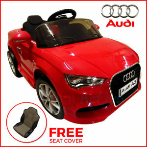 Kids Ride On Audi A3 Licensed 12v Car Remote Control Twin Motor Battery Cars Ebay