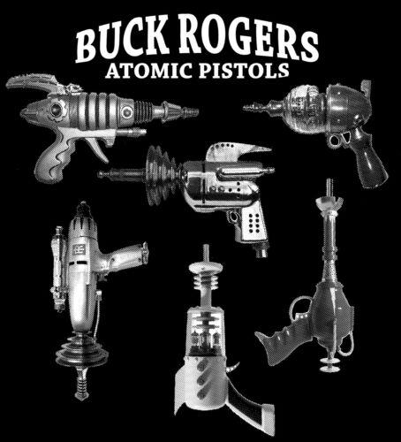 Hommes T Shirt Buck Rogers armes-pistolets-Science Fiction Film S-2XL livraison gratuite