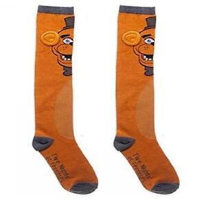 b608c1105ba Five Nights At Freddy s - Freddy Knee High Socks - New   Official ...