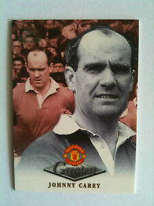 MINT 1999 Futera Platinum  Manchester United Greatest Johnny Carey - <span itemprop='availableAtOrFrom'>Basingstoke, United Kingdom</span> - MINT 1999 Futera Platinum  Manchester United Greatest Johnny Carey - Basingstoke, United Kingdom