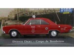DODGE Dart - Corpo de Bombeiros - Atlas 1:43