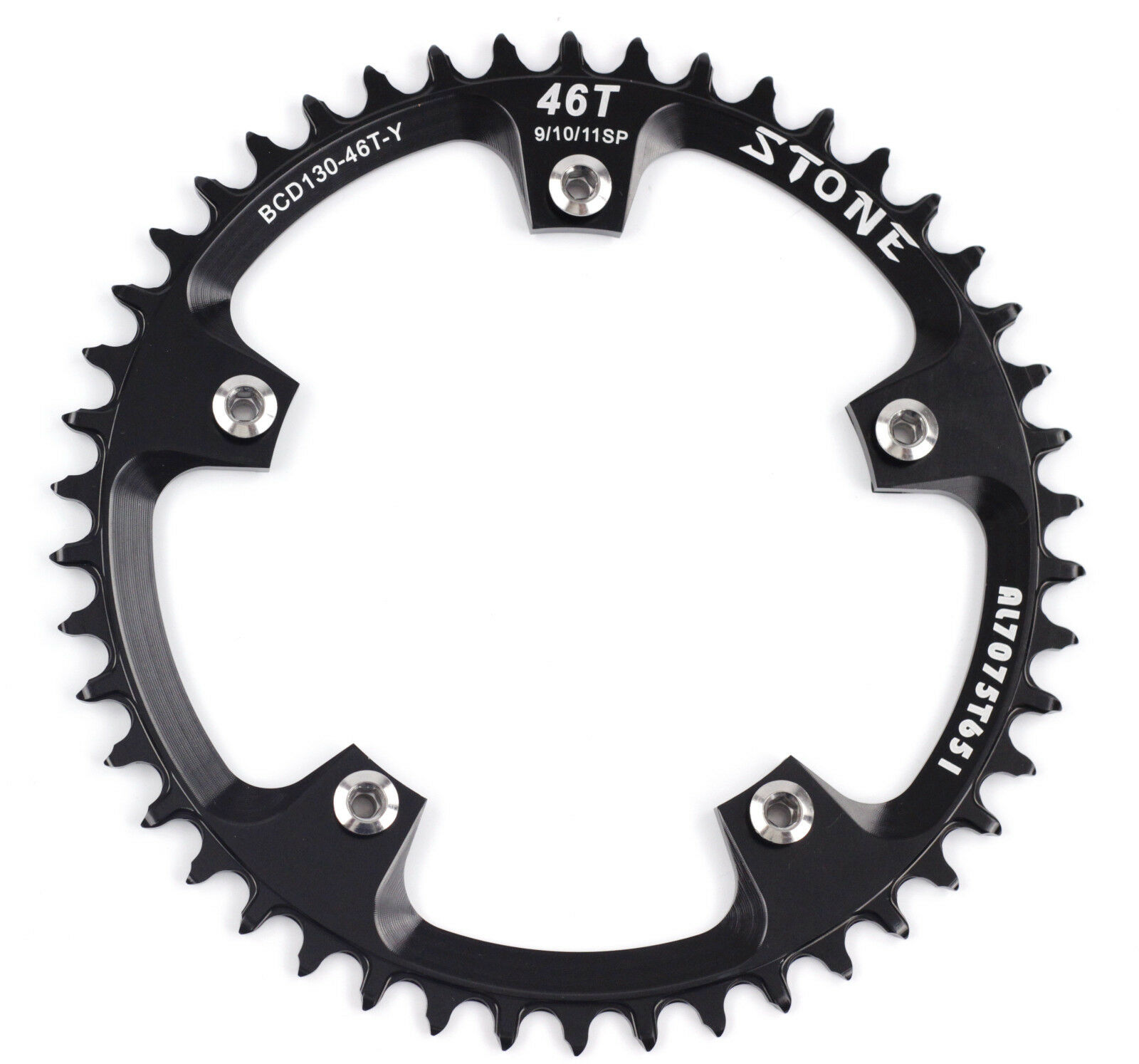 AL7075 Chainring Narrow Wide for Folding Bike Road bicycle BCD130mm