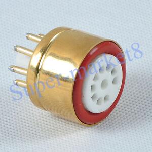 1pc-6SN7-6SL7-To-12AU7-12AX7-Tube-Adapter-Socket-Converter-8pin-to-9pin-Adaptor