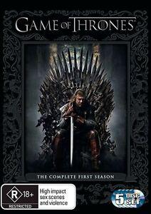 Game-Of-Thrones-Season-1-DVD-2012-5-Disc-Set-Excellent-Condition
