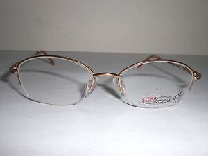 Clearvision Designer Eyeglasses Frames Alyssa Gold Mink ...