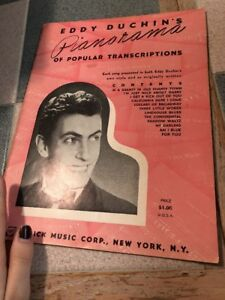 Eddy-Duchins-Pianorama-of-Popular-Transcriptions-Sheet-Music-Book