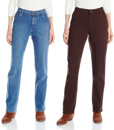Fit Women's Straight Lee Denim Jeans 14p Tags 8sp Relaxed Chocolate Nieuwe Leg 6Z5gqfgw