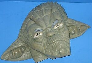 VTG-Star-Wars-1980-BABY-YODA-Halloween-Rubber-Mask-Lucas-Films-Adult-S-YOUTH-L