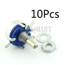 10pcs WH5-1A 22K Ohm 4mm Shaft 3 Terminal Linear Taper Rotary Potentiometer