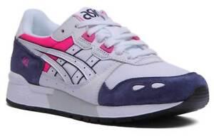 Pink Trainers Gel Iii Size White Asics 312 Lyte Lace Uk Unisex Up Mesh Blue uFKc5lT13J