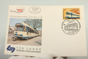 100 Ans Wiener Lokalbahnen Triebwagenreihe 100 Autriche Chemin De Fer Vintage