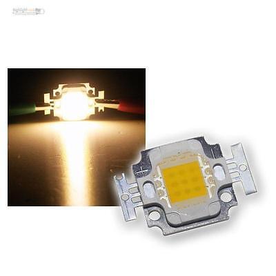 """Accurato 10 Pzi Ad Alte Prestazioni Chip Led 10w Bianco Caldo Highpower 10 Watt Bianco Caldo """"square""""-mostra Il Titolo Originale"""