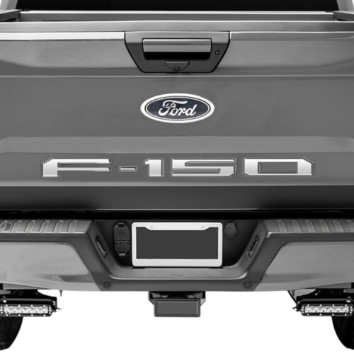 2019 Ford F-150 Tailgate Rear Vinyl Chrome Letters Inserts Decals Stickers Trim