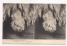 carte postale stéreo , grottes de bétharram ,le bourdon