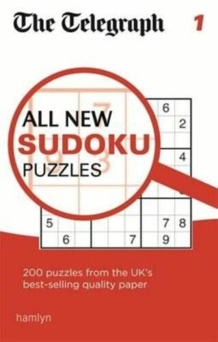 1 of 1 - The Telegraph All New Sudoku Puzzles 1 (The Telegraph Puzzle Books), THE TELEGRA