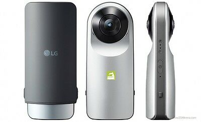 Deal 18: New Imported LG 360 Degree Camera with Dual 13MP WideLens Camera Silver