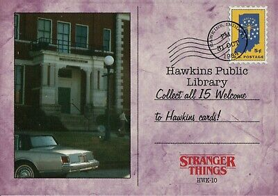Stranger Things Upside Down Welcome To Hawkins Chase Card HWK-4 Benny/'s Burgers