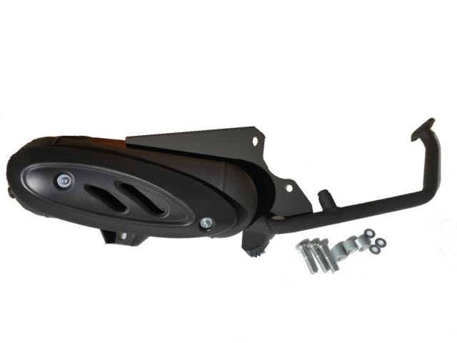 Auspuffanlage Tecnigas Maxi 4 Honda Dylan SES JF10 KF05 150i 150ie 150 Auspuff