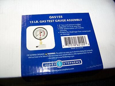 Honeywell G64-030 Jones Stephens 30-Pound Gas Test Gauge Assembly