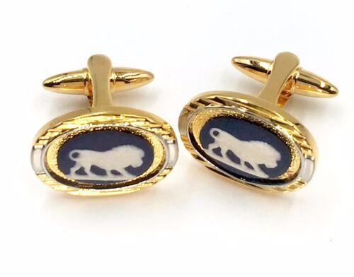 Stamped Authentic Wedgwood Cufflinks w//Jasperware Cameos Wedgwood Jewelry