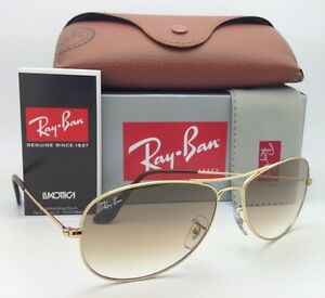 a5be57fb5e New Ray-Ban Sunglasses RB 3362 COCKPIT 001 51 59-14 Arista Gold w ...