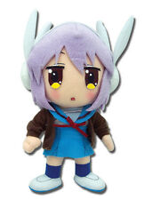 "Great Eastern GE-8994 Melancholy of Haruhi Suzumiya 8"" Yuki Nagato Plush Doll"