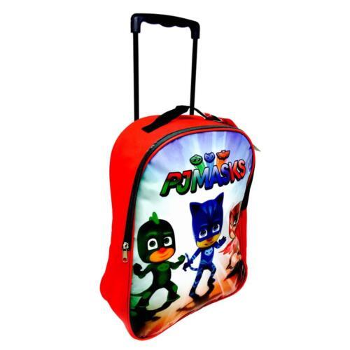 Officiel NEUF de la marque PJ Masques Deluxe Chariot de voyage à roulettes sac