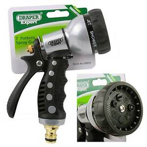Winning Draper Expert Quality Garden Hose Spray Gun Aluminium Body Soft  With Exquisite Image Is Loading Draperexpertqualitygardenhosespraygunaluminium With Delectable Rock Garden With Potted Plants Also Garden Centres Oxfordshire Uk In Addition Tiptree Garden Centre And Greenes Fence Raised Garden Bed As Well As Garden House For Children Additionally Garden Gates B And Q From Ebaycouk With   Exquisite Draper Expert Quality Garden Hose Spray Gun Aluminium Body Soft  With Delectable Image Is Loading Draperexpertqualitygardenhosespraygunaluminium And Winning Rock Garden With Potted Plants Also Garden Centres Oxfordshire Uk In Addition Tiptree Garden Centre From Ebaycouk