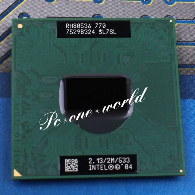 Intel Pentium M 770 SL7SL 2.13 GHz 533 MHz CPU 6 month warranty free sp
