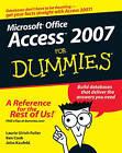 Access 2007 For Dummies by Ken Cook, Laurie Ulrich-Fuller, John Kaufeld (Paperback, 2006)