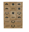 Solid-Wood-14-Drawer-Storage-Unit-With-Assorted-Handles thumbnail 1
