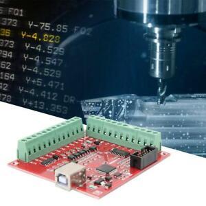 CNC USB MACH3 Red Break-out Board Support Stepper Motor Drive Servo Drive