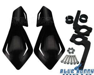 Black-Plastic-7-8-039-039-Motorcycle-Handguards-Hand-Guards-For-Honda-Suzuki-Polaris
