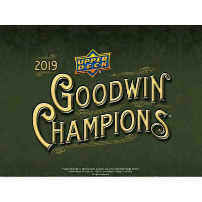 2019 Upper Deck Goodwin Champions Base  #83  ROB PAULSEN