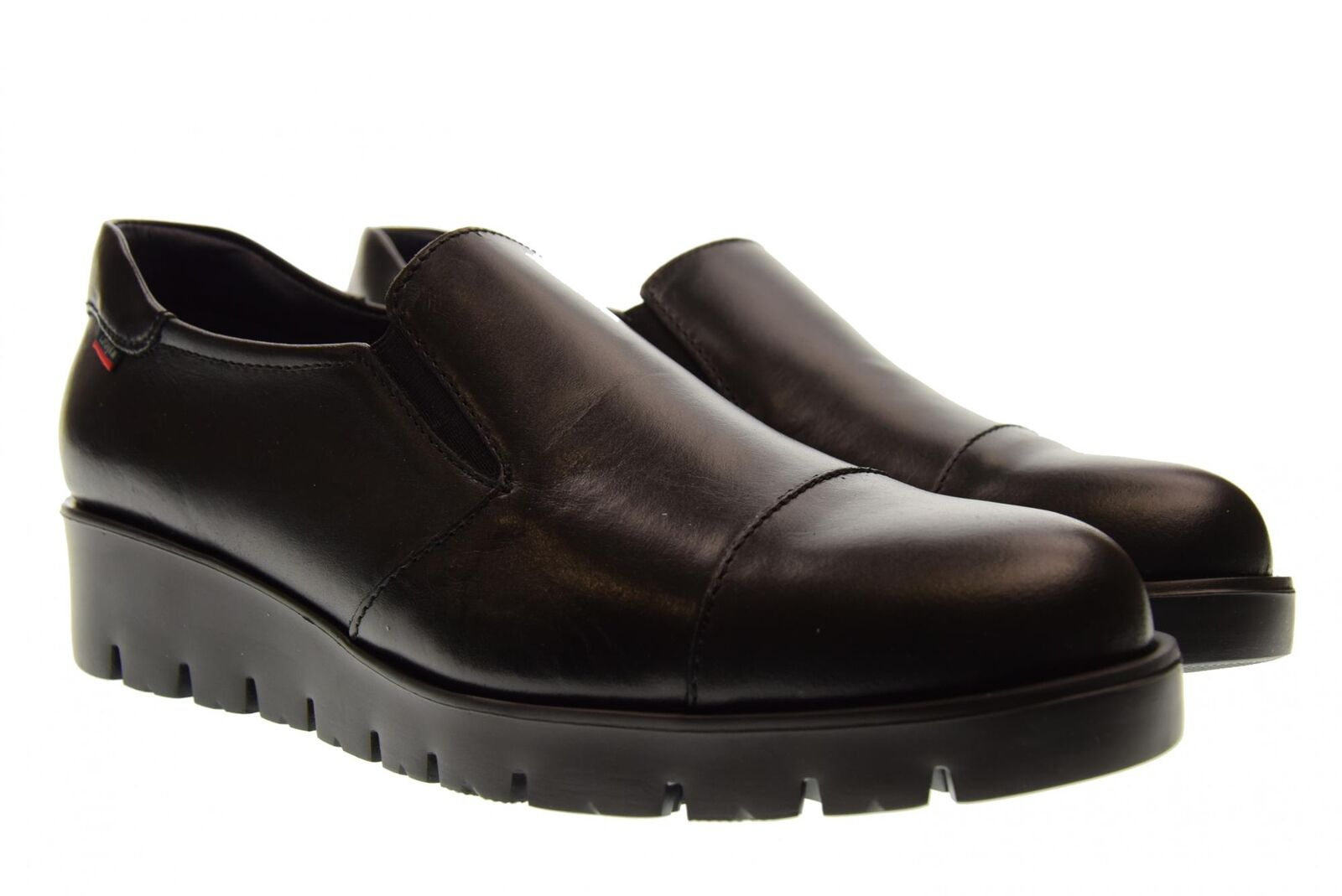 Callaghan A18s zapato femmes slip on con cuña 89817 HAhomme noir