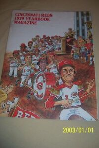 1979-CINCINNATI-REDS-Official-Yearbook-JOHNNY-BENCH-Griffey-TOM-SEAVER-Foster