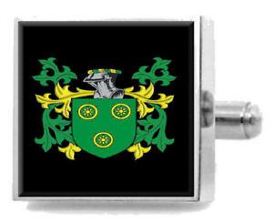 Haye Ecosse Famille Cimier Nom de Armoiries Pince à Cravate Gravé dans une Poche H3C7ipP6-09160856-968063877