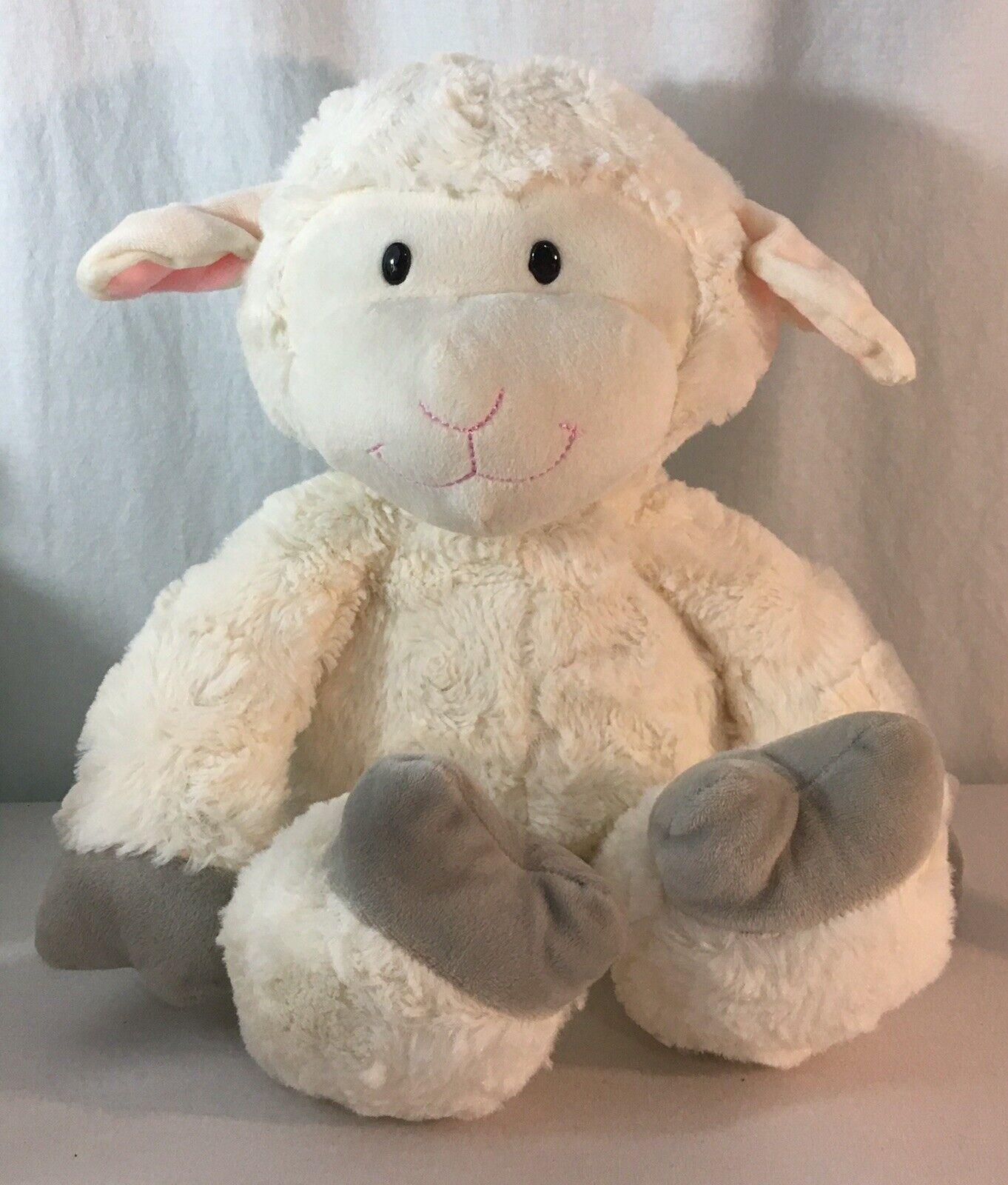 Animal Adventure 2018 Plush White Sheep Lamb Easter Stuffed Animal