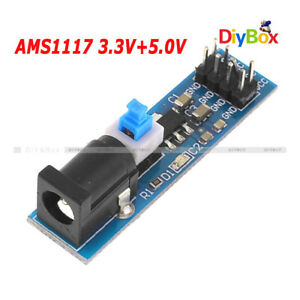 1-2-5-10PCS-AMS1117-3-3V-AMS1117-5-0V-Power-Supply-Module-Voltage-Regulator