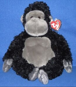TY TUMBA THE GORILLA BEANIE BUDDY - MINT with MINT TAGS