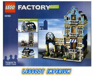 LEGO-Factory-Market-Street-Modular-Creator-10190-NEW-MISB-FREE-POST