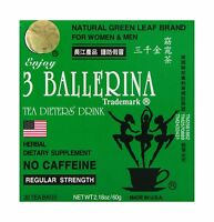 Diet Tea For Men And Women 30 Tea Bags Three Ballerina Free Shipping