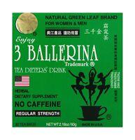 Diet Tea For Men And Women 30 Tea Bags Three Ballerina Free Shipping