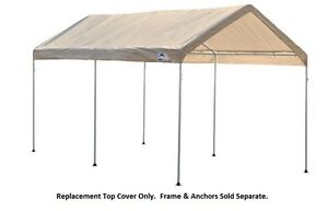 Image is loading 9x16-ShelterLogic-Tractor-Supply-Replacement-Canopy -Top-Cover-  sc 1 st  eBay : tractor supply canopy - memphite.com