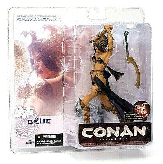 Conan Serie 1 Bêlit Figur PVC 16cm Mcfarlane