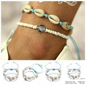 Boho-Handmade-Shell-Beads-Anklet-Beach-Sea-Sandal-Bracelet-Foot-Ankle-Jewelry